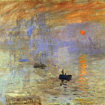 Claude Oscar Monet - Impression; Sunrise