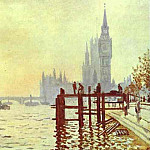 Claude Oscar Monet - The Thames at Westminster (Westminster Bridge)
