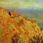 Claude Oscar Monet - Custom Officers Cabin at Varengville