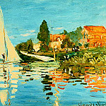 Claude Oscar Monet - regate