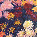 Claude Oscar Monet - chrysanthemums 1897