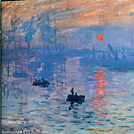 Claude Oscar Monet - Impression. Sunrise.