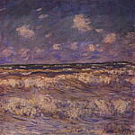 Claude Oscar Monet - rough sea 1881