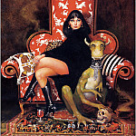 Don Maitz - Lady And Her Pet - Xxx 1618