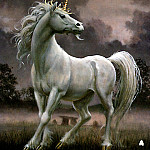 Don Maitz - White Unicorn