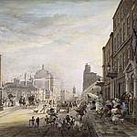 A View Towards Hanover Square, from Holles Street, London