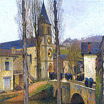 Henri-Jean-Guillaume Martin - Church Mass at Labastide du Vert