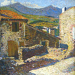 Henri-Jean-Guillaume Martin - Village in the Sun