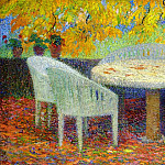 Henri-Jean-Guillaume Martin - Under the Large Chestnut Tree at Marquayrol 1915