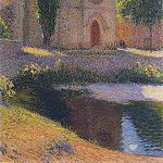 Henri-Jean-Guillaume Martin - Church at Labastide du Vert 1919