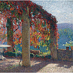 Henri-Jean-Guillaume Martin - Pergola in Marquayrol in Autumn