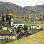 Henri-Jean-Guillaume Martin - View of Labastide in Gray Weather