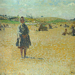 Henri-Jean-Guillaume Martin - Young Girl in the Fields