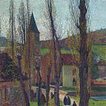 Henri-Jean-Guillaume Martin - The Church in Labastide du Vert