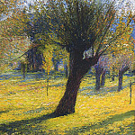Henri-Jean-Guillaume Martin - Willows in the Vert