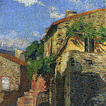 Henri-Jean-Guillaume Martin - Houses at Collioure