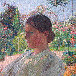Henri-Jean-Guillaume Martin - The Pensive Young Woman