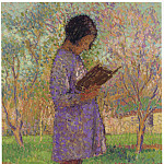 Henri-Jean-Guillaume Martin - Young Girl Reading