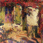 Henri-Jean-Guillaume Martin - Pergola at the South Door of Marquayrol 1900