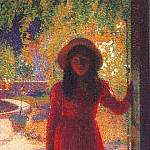 Henri-Jean-Guillaume Martin - Gabrielle at the Gate