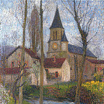 Henri-Jean-Guillaume Martin - Church in Labastide du Vert