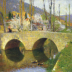 Henri-Jean-Guillaume Martin - The Bridge at Labastide du Vert
