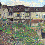 Henri-Jean-Guillaume Martin - Entering the Village