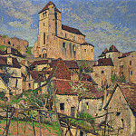 Henri-Jean-Guillaume Martin - The Village of Saint Cirq Lapopie