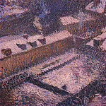Henri-Jean-Guillaume Martin - The Roofs of Paris in Snow