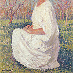 Henri-Jean-Guillaume Martin - The Muse 01