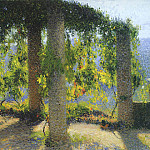 Henri-Jean-Guillaume Martin - The Small Pergola
