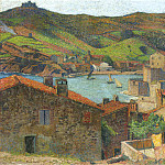 Henri-Jean-Guillaume Martin - The Village at Port Collioure