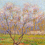 Henri-Jean-Guillaume Martin - Trees in Bloom