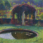 Henri-Jean-Guillaume Martin - Pergola in the South West Park 1920