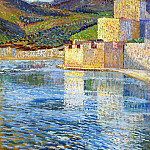 Henri-Jean-Guillaume Martin - Ramparts at Collioure 1915