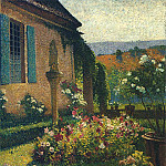 Henri-Jean-Guillaume Martin - Garden of the Artist