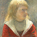 Henri-Jean-Guillaume Martin - Child in Red Jacket 1891