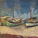 Henri-Jean-Guillaume Martin - Boats in Port Collioure
