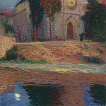 Henri-Jean-Guillaume Martin - Church by the River