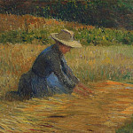 Henri-Jean-Guillaume Martin - Peasant Woman in the Fields