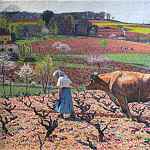 Henri-Jean-Guillaume Martin - Laborers Prepare the Vines in Quercy