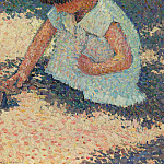 Henri-Jean-Guillaume Martin - Young Girl