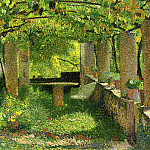 Henri-Jean-Guillaume Martin - The Arbour 1900