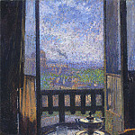 Henri-Jean-Guillaume Martin - View from the Artists Studio