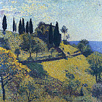 Henri-Jean-Guillaume Martin - View from the Artists Studio 1902