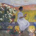 Henri-Jean-Guillaume Martin - The Weaving Women