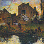 Henri-Jean-Guillaume Martin - House of Marie Louise in Labastide 1920