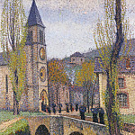 Henri-Jean-Guillaume Martin - The Hour of Mass in Labastide du Vert