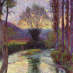 Henri-Jean-Guillaume Martin - Reflected Willow on the Green 1915