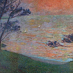 Henri-Jean-Guillaume Martin - Sunset at Sea